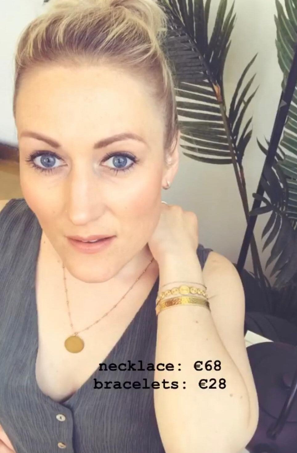 Sam&Cel - 2 different gold bracelets