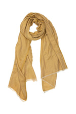 By-Bar tibetian scarf mustard