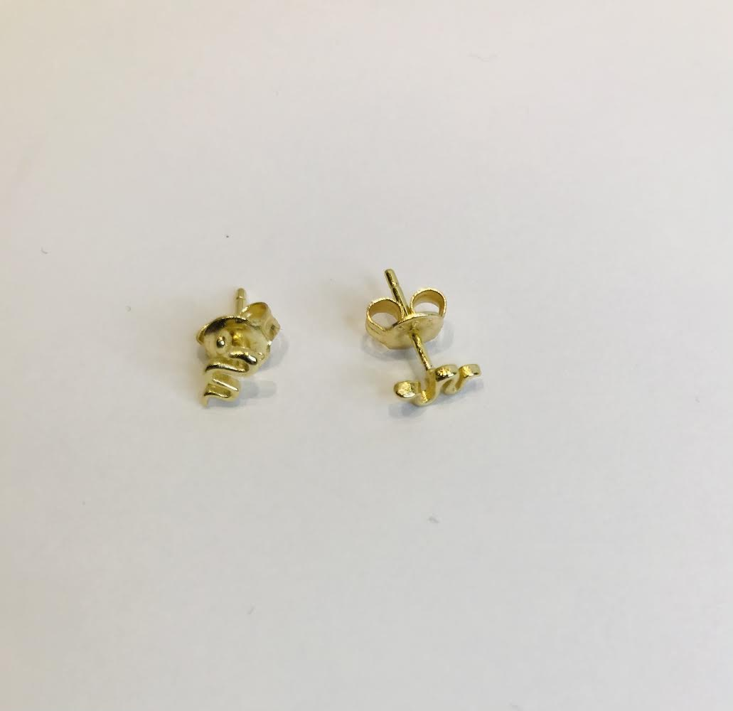 SAM & CEL - small snake earrings