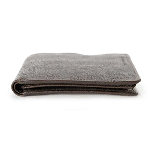 Aunts & Uncles - the dandy dark brown vegetal tanned cowhide wallet
