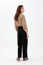 By-Bar - cecile blouse dessert dark nude brown