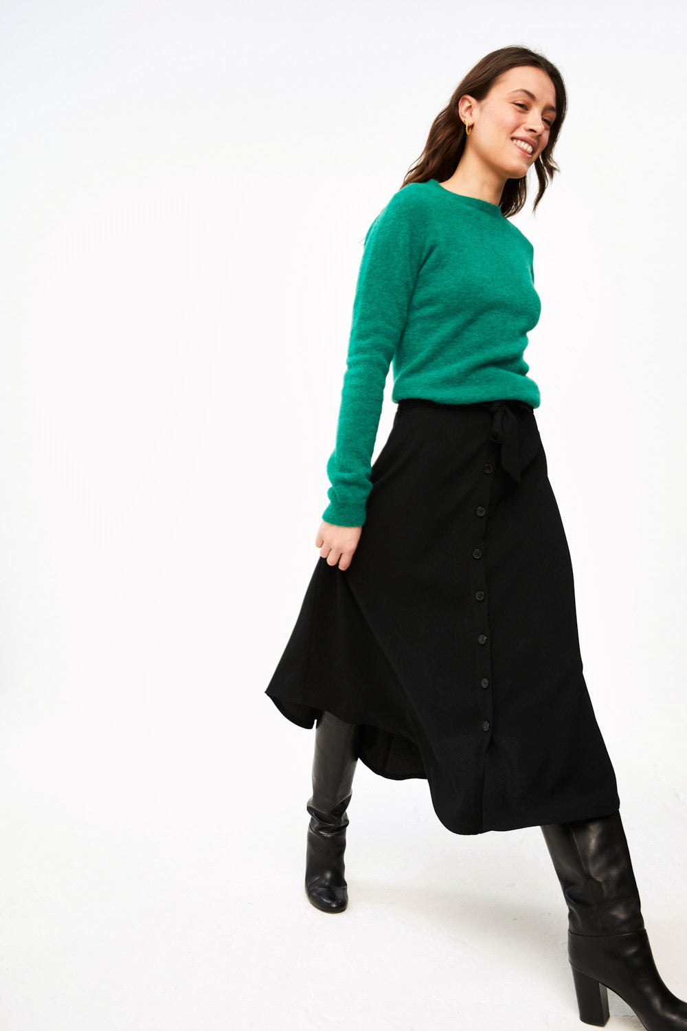 By-Bar - davina black skirt