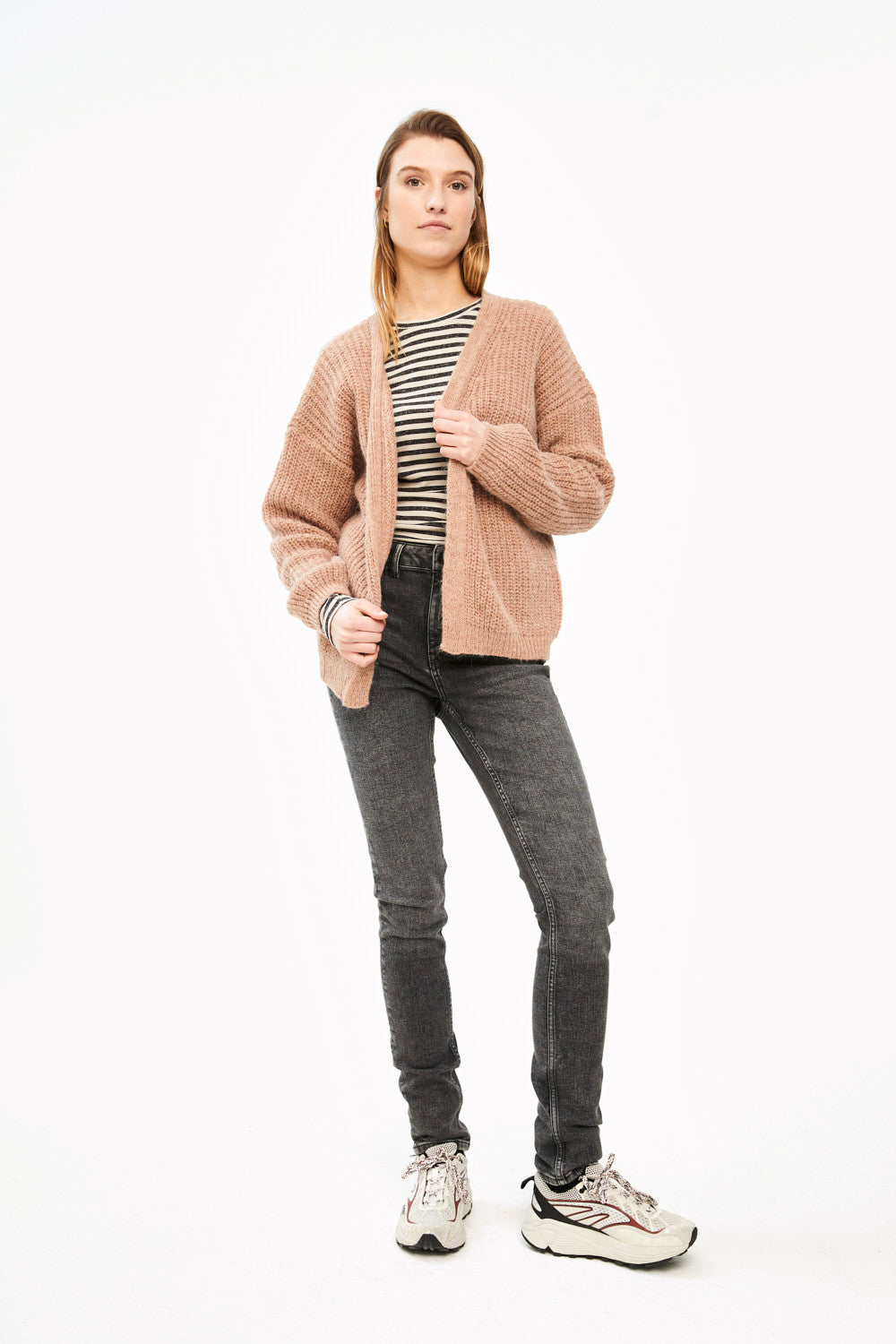 By-Bar - lara susi old pink cardigan