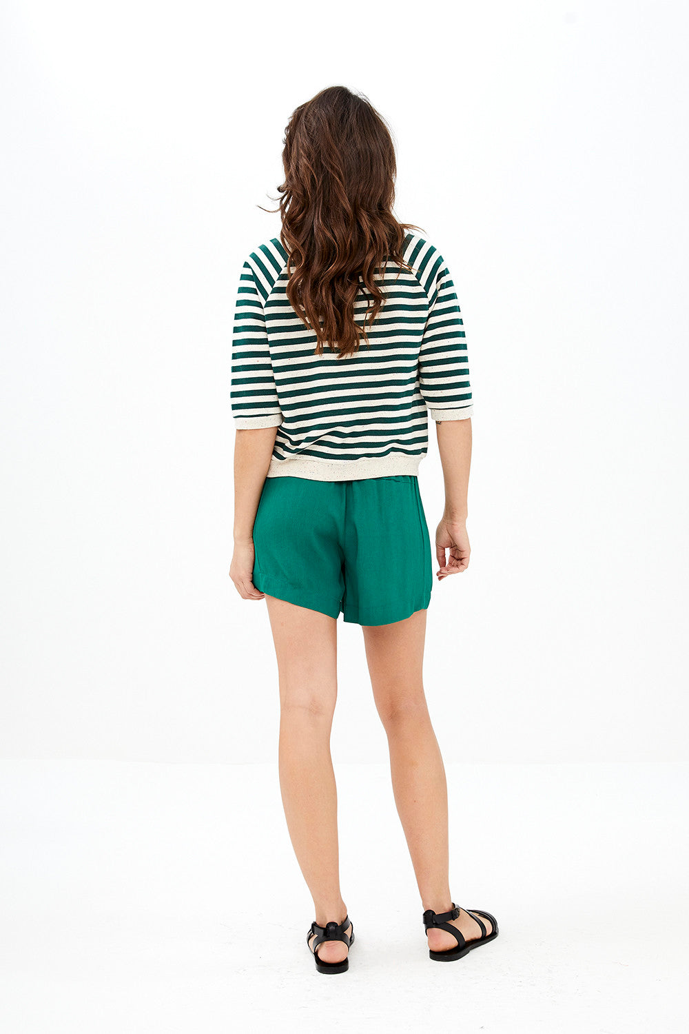 By-Bar - lena dots top evergreen