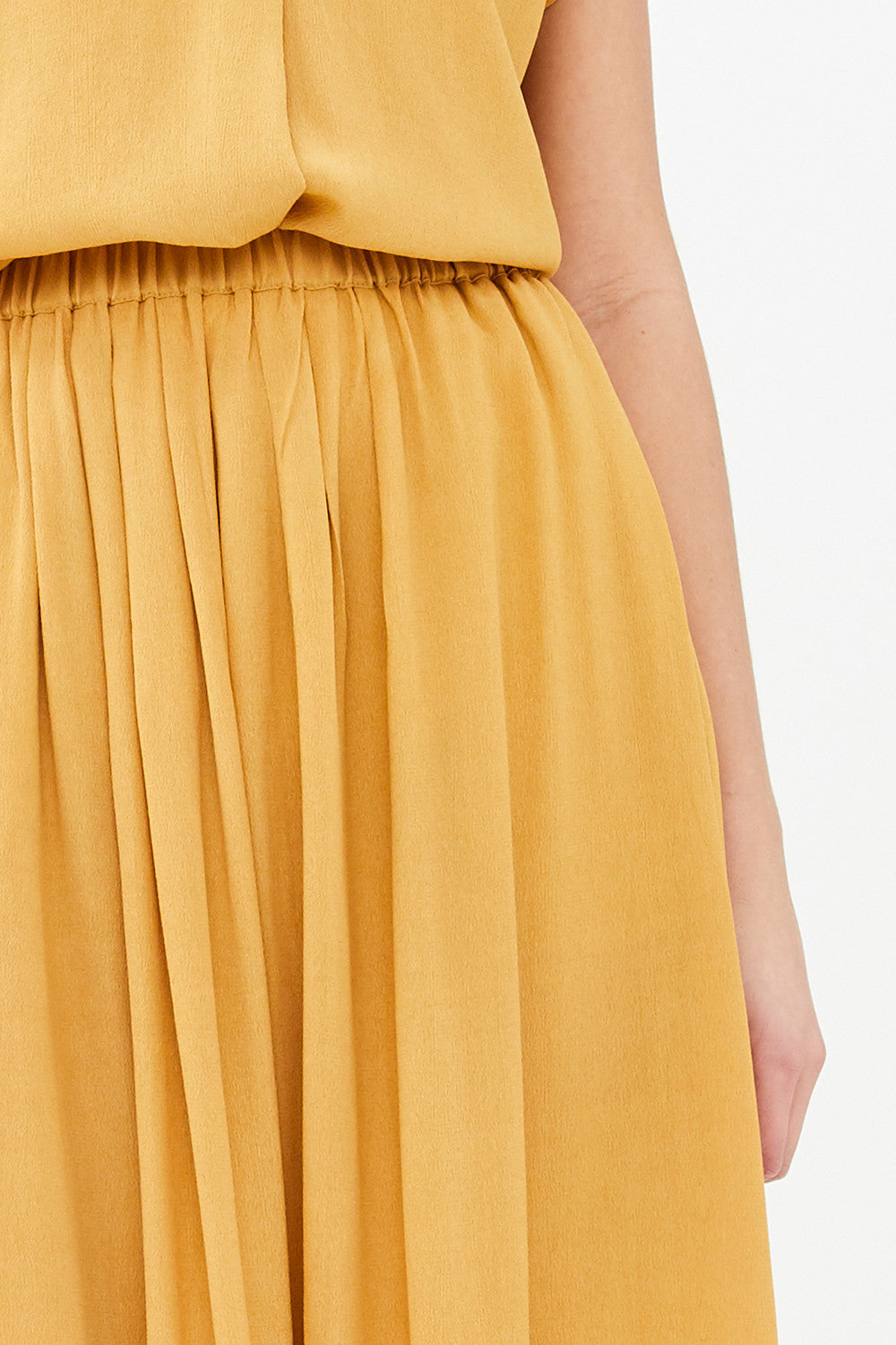 By-Bar - linde skirt yellow straw