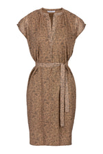By-Bar - victoria dress dessert dark nude brown