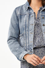 By-Bar - smile denim jeans jacket