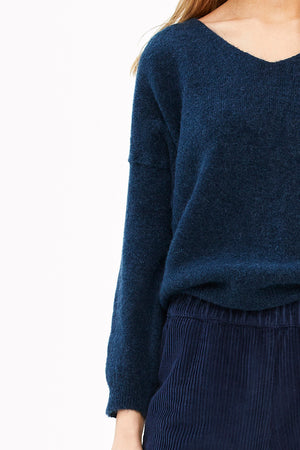 By Bar - blue sofie pullover