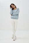 By-Bar - mette pant off white