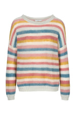 By-Bar - iris stripe pullover multi
