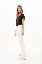 By-Bar - mila linen top black