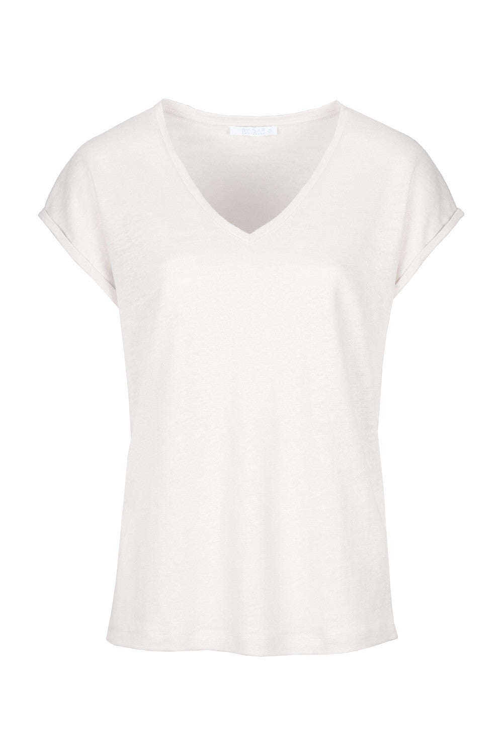By-Bar mila linen top off white