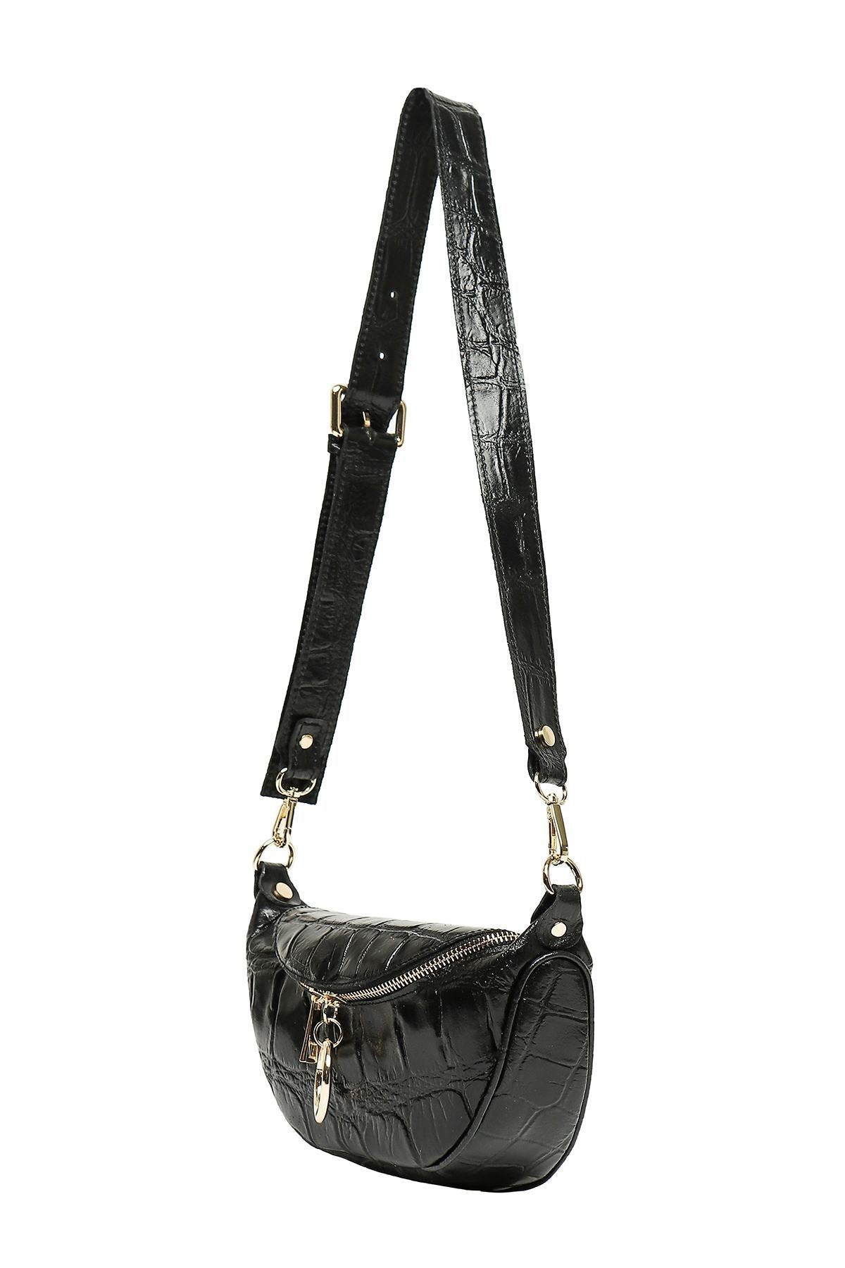 Cherry Paris - Isabelle banana bag black