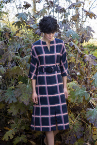 FAM The Label - Mona check dress