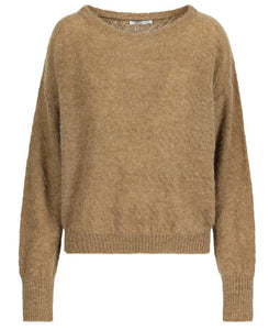 Hampton Bays - knitwear pull trace brown sugar