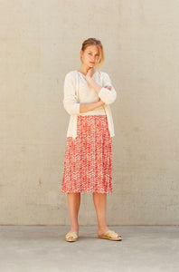 Hampton Bays - tomato polka red skirt