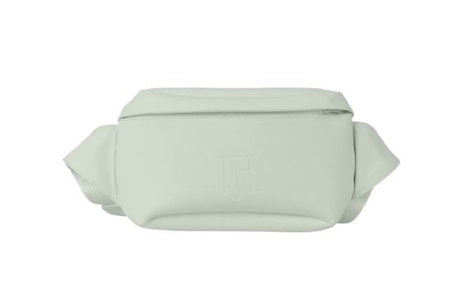 Ilse Jacobsen - mini light green lily rain belt bag