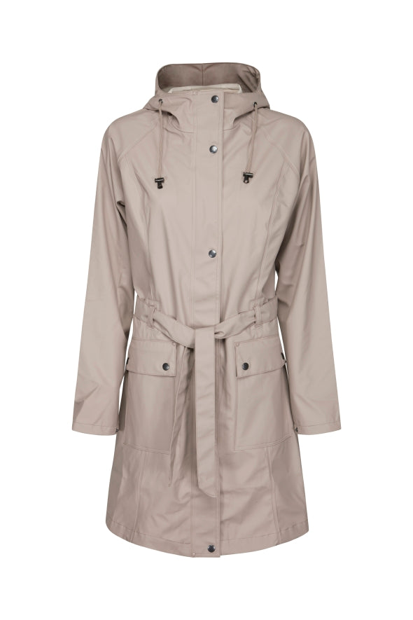 Ilse Jacobsen light brown raincoat