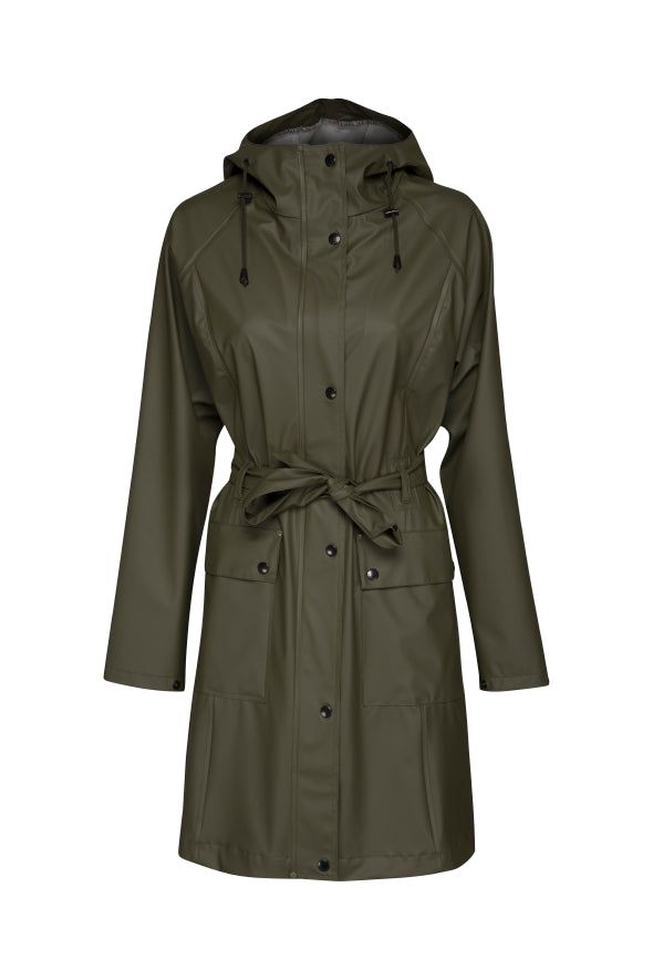 Ilse Jacobsen raincoat army