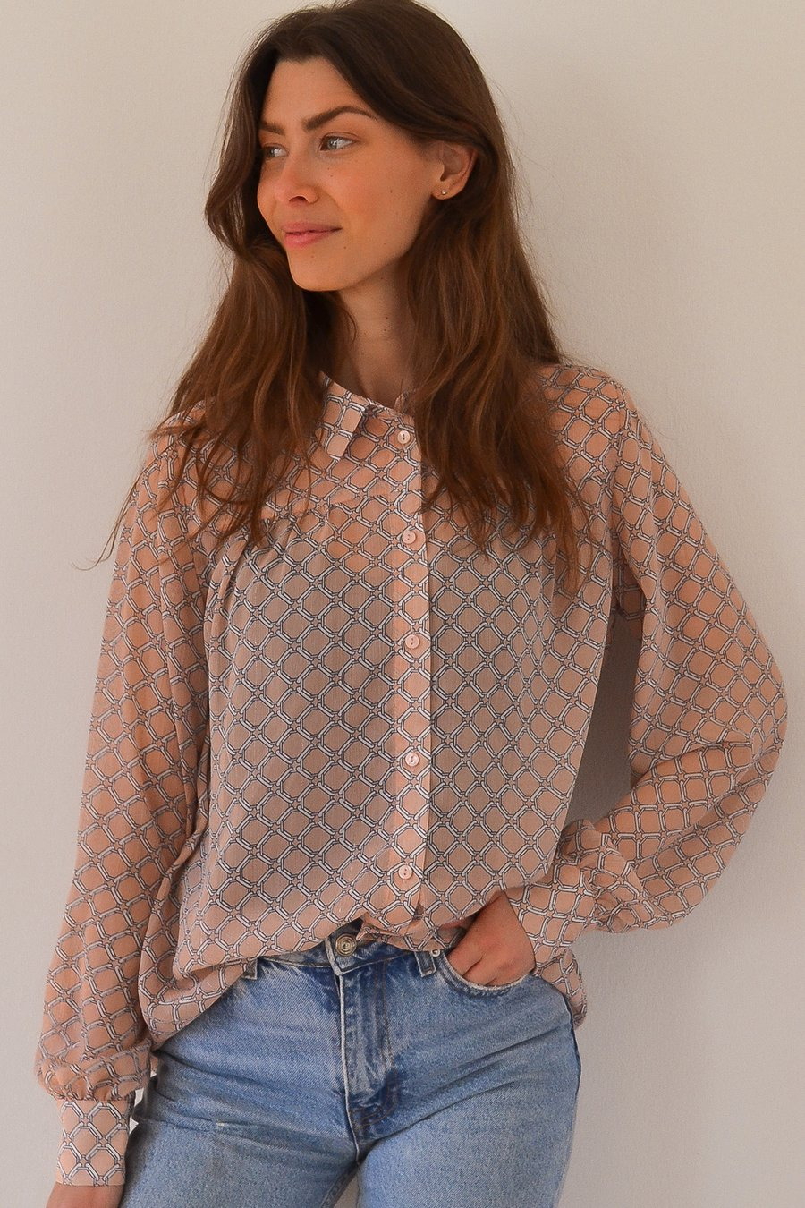 Lollys Laundry - dusty pink molly shirt