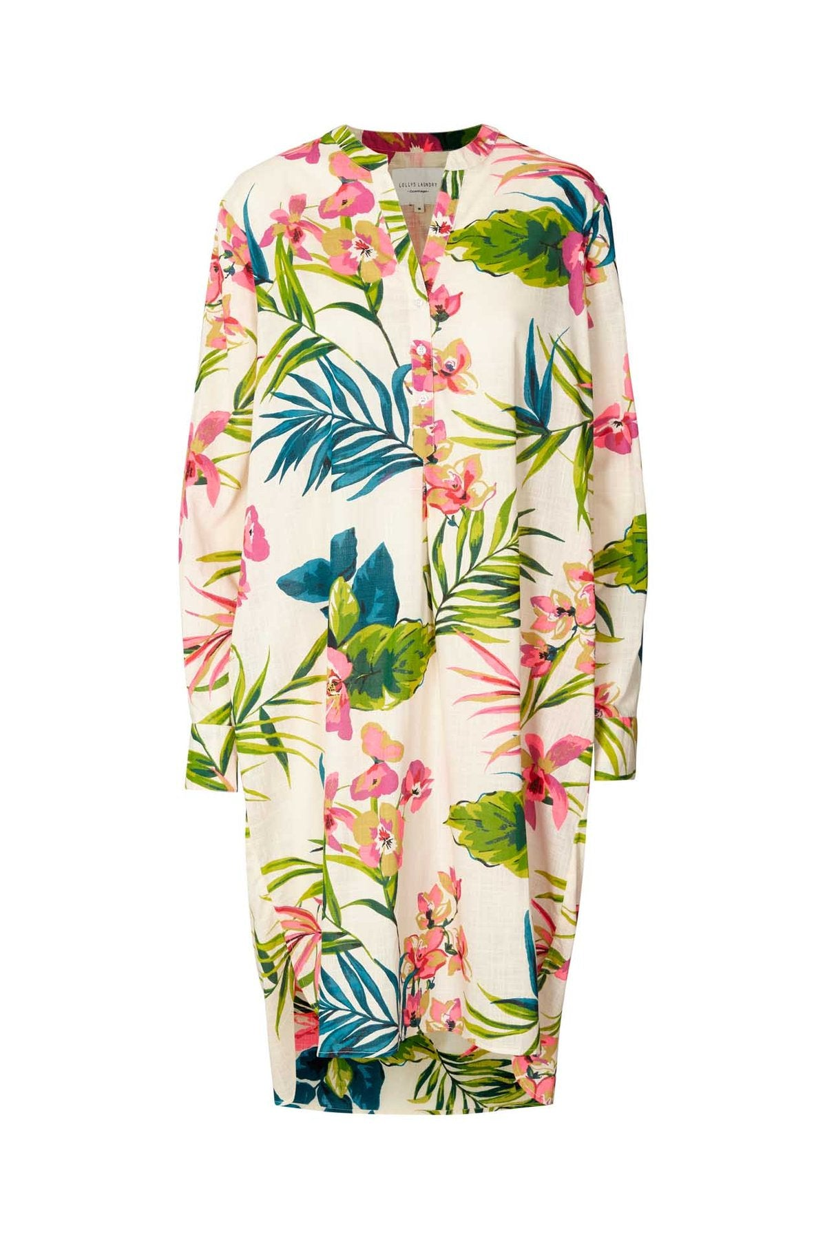Lollys Laundry - flower print lucca shirt dress