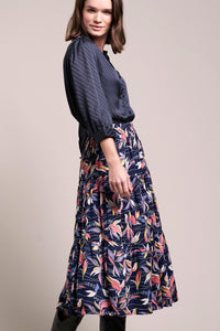 Lollys Laundry - dark blue morning skirt