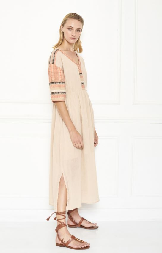 MKT studio - bohemian roki dress naturel