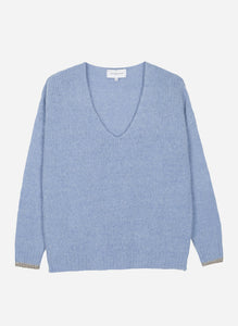 Maison Anje - Lauguste givre light blue knitwear