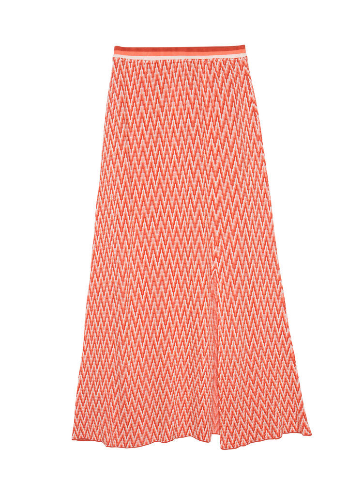 Maison Anje - lorenzo sunset  red skirt