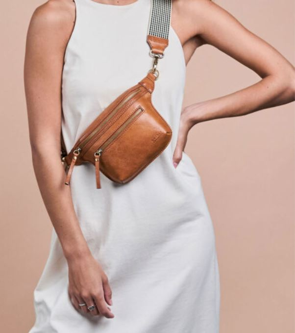 O My Bag - Beck's bum bag cognac stromboli leather
