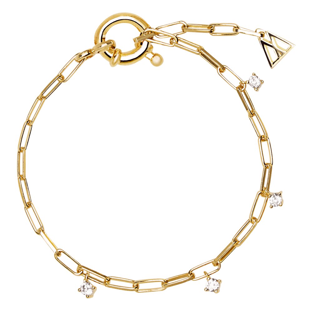 PDPAOLA - gina gold bracelet PU91-043-U (Daze collection)