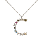 PDPAOLA - Letter C silver necklace CO02-098-U
