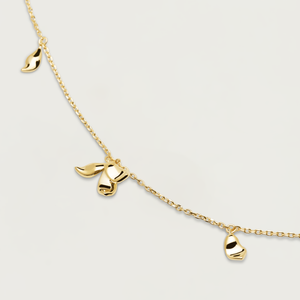 PDPAOLA - jasmine gold necklace CO01-163-U blossom collection
