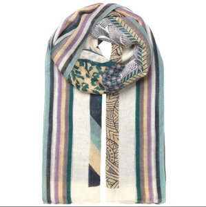 Unmade dawnelle multicolour scarf storm