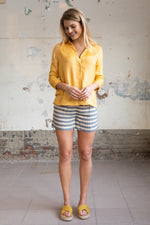 Wearable Stories - anne-marie grey striped short
