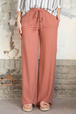 Wearable Stories - avah trousers dark pink