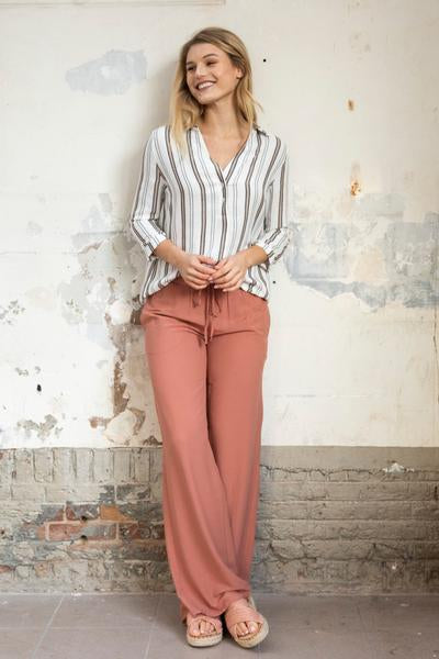 Wearable Stories - nina striped shirt