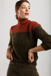 Wearables Stories - Lydia knitwear khaki pull