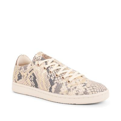 Woden - jane snake off white sneakers