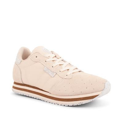 Woden - alison low light sand beige sneaker