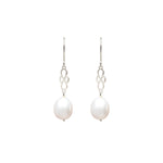 Wouters & Hendrix - hook earrings with a freshwater pearl