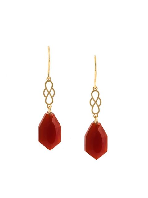 Wouters & Hendrix - my favourite red agate earrings
