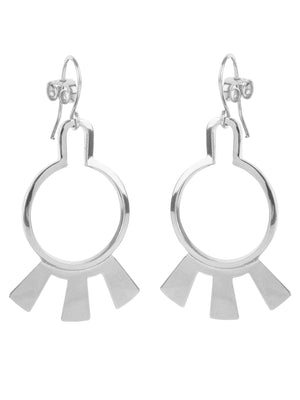 Wouters & Hendrix - silver earrings
