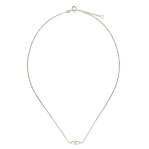 Wouters & Hendrix - subtle necklace with infinity symbol