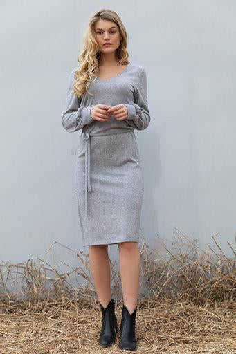 Wearable stories annie dress grey
