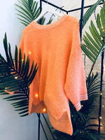Maison Anje - colourful and cosy orange knitwear