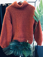 Subtiel Knitwear red soft knitwear