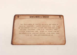 Aunts & Uncles - kelby caramel gentlemen by choice wallet