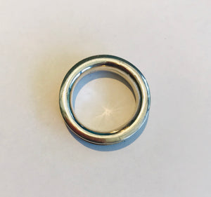 Atelier Elf silver ring hollow tube