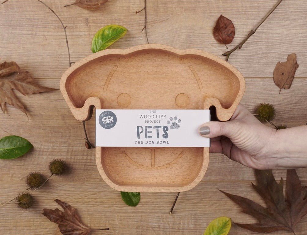 Decoration The Dog Bowl antibacterial wood